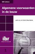 IBR Cahier 1 - Algemene voorwaarden in de bouw